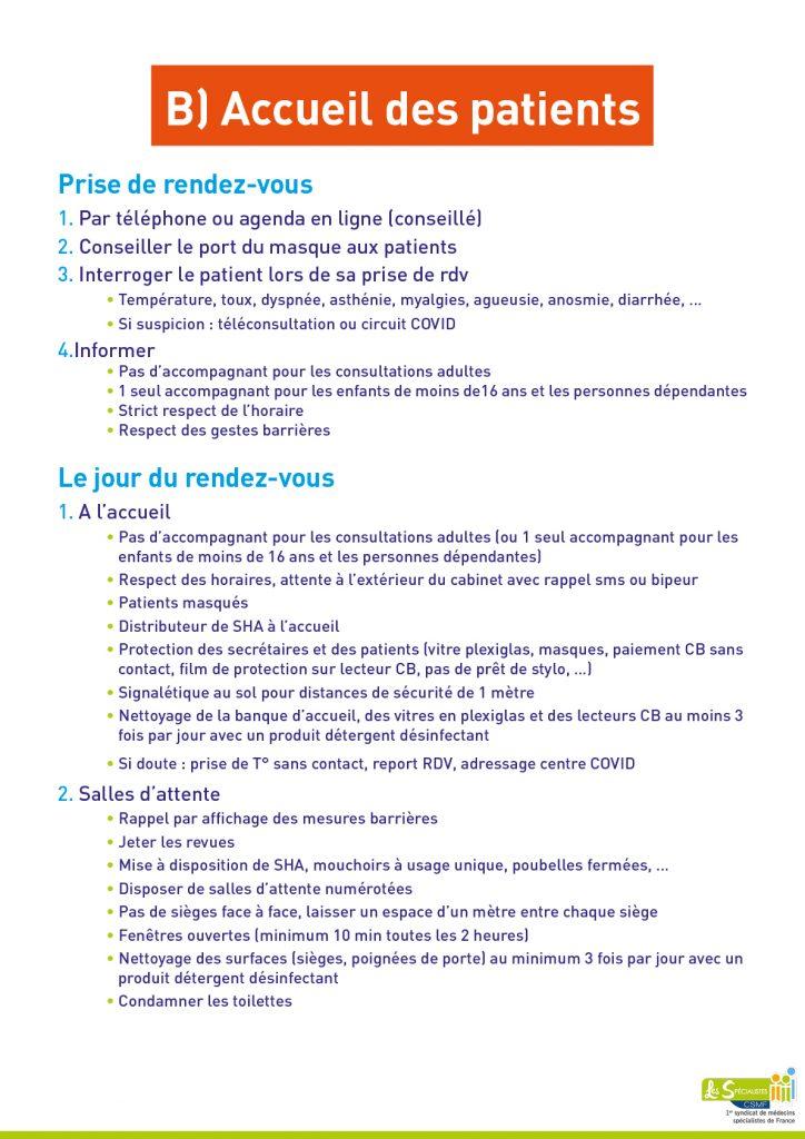 COVID-19 fiche 3 précautions