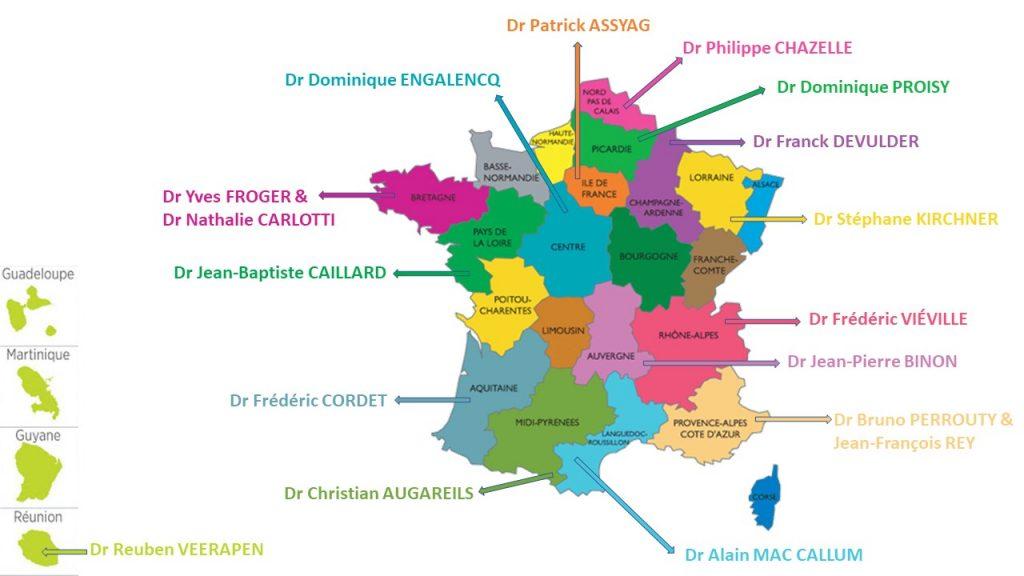 Délégués région