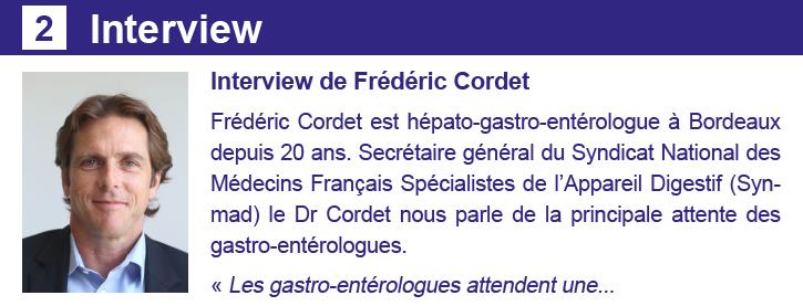 Interview Newsletter 24 septembre Les Spécialistes CSMF