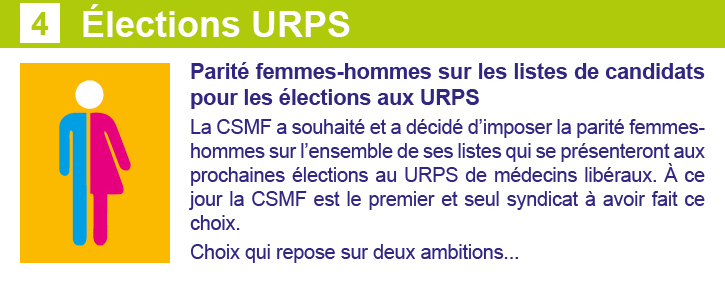 Newsletter Elections URPS 2 novembre