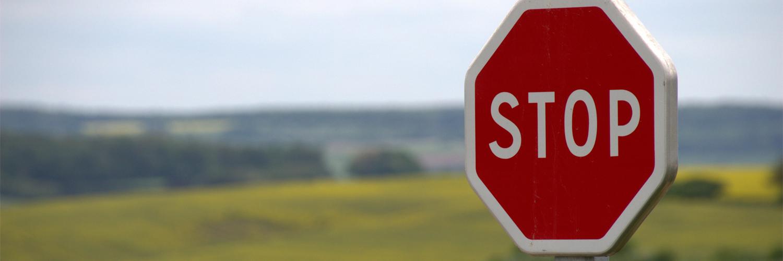 stop panneau